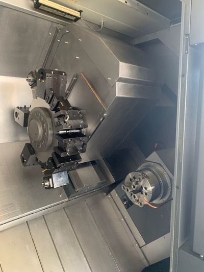 Токарный станок с ЧПУ Leadwell LTC-25iSMY