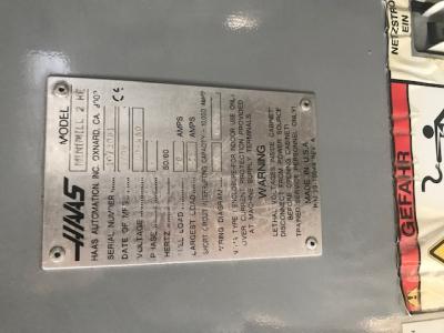 Фрезерный станок с ЧПУ HAAS Mini Mill 2