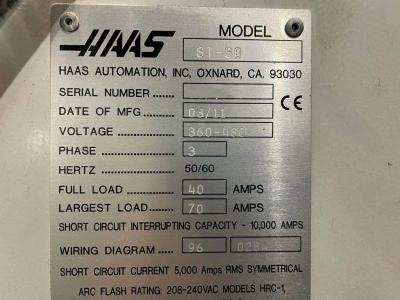 Токарный станок с ЧПУ HAAS ST-30