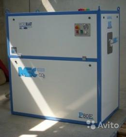 Пеллетайзер P100E для производства сухого льда