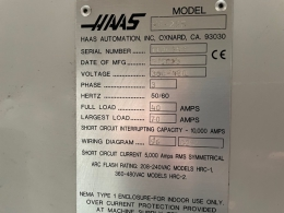 Фрезерный станок с ЧПУ HAAS VF-2 SS
