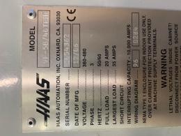 Фрезерный станок с ЧПУ HAAS VF-5/40TRHE